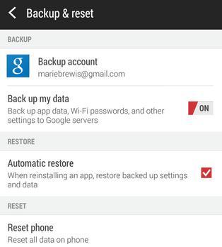 Actualizare (update) telefon Android sau tabletă backup