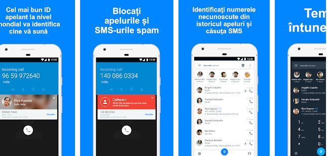 Aplicație de văzut cine te sună pe Android sau iPhone TrueCaller