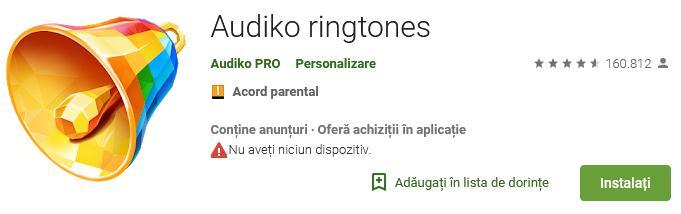 Aplicații pentru descărcat muzica gratis pe iPhone sau Android Audiko