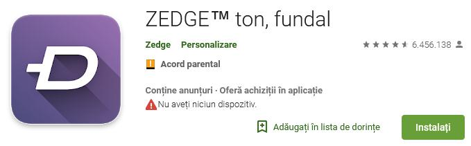 Aplicații pentru descărcat muzica gratis pe iPhone sau Android Zedge