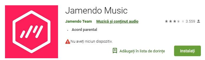 Aplicații pentru descărcat muzica gratis pe iPhone sau Android jemendo