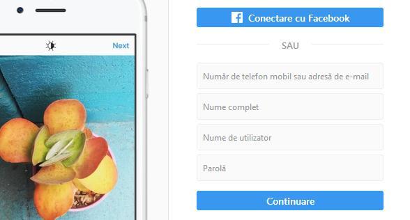 Captură de ecran (screenshot) pe Instagram fără a trimite notificare din browser