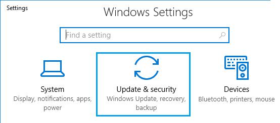 Cel mai simplu mod de dezinstalare actualizări în Windows 10 actualizari si securitate