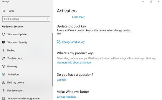 Cum găsești cheia de produs la Windows 1087 este activat