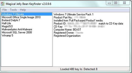 Cum găsești cheia de produs la Windows 1087 programe de gasit cheia
