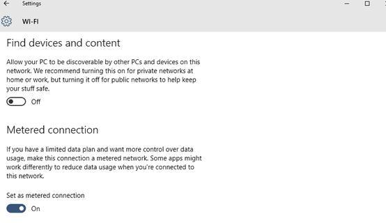 Dezactivare update (actualizări) Windows 10 wi-fi masurat