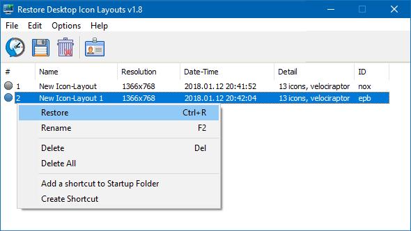 Micșorare iconițe pe desktop în Windows 10/8/7