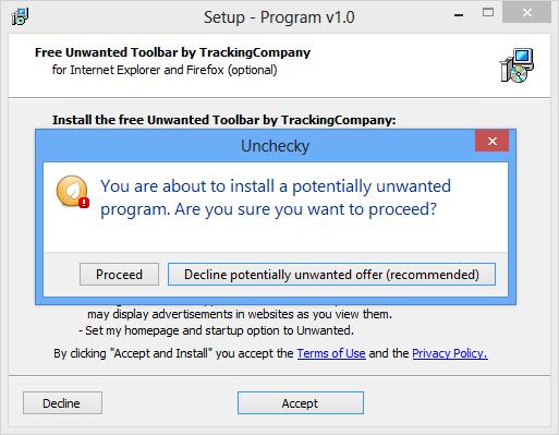 Oprește instalarea programelor nedorite în Windows
