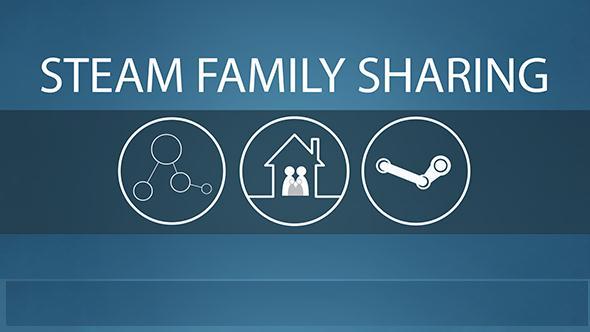 Partajează jocurile cu prieteni cu Steam Family Sharing