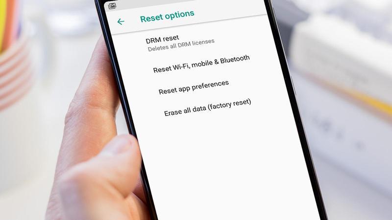 Resetare telefon Android din butoane sau Meniu
