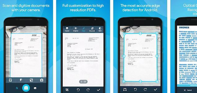 Aplicații scanner documente pentru Android sau iPhone alte aplicatii scaner