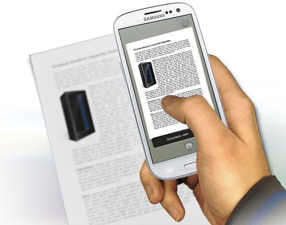 Aplicații scanner documente pentru Android sau iPhone