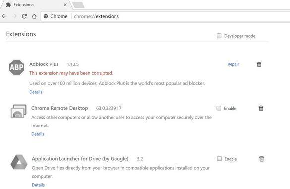 Cum accelerezi browserul Google Chrome extensiile din browser