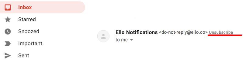 Cum blochezi o persoană pe Gmail dacă te supară unsubscribe