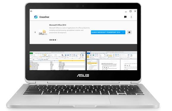 Cum folosești aplicații Windows pe laptop Chromebook