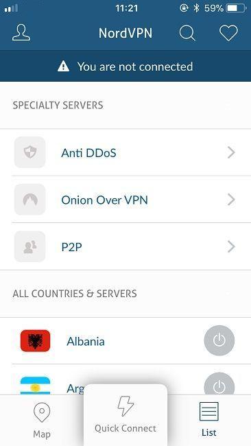 Cum folosești un VPN pe iPhone sau iPad setare NordVpn