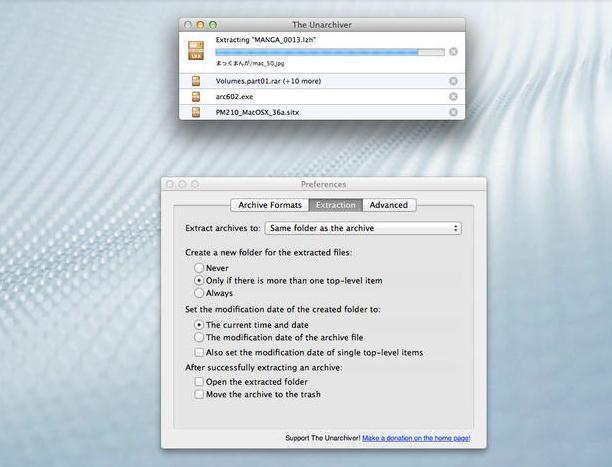 Cum poți deschide fișiere RAR, ZIP,7-Zip sau ISO pe Mac The Unarchiver