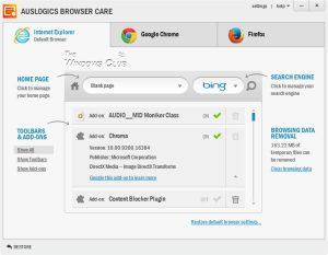 Cum se gestionează toolbar-ul și plugin-urile din browser
