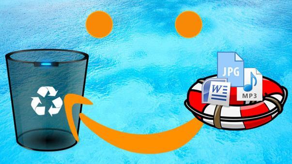 Recuperează fișiere șterse din recycle bin