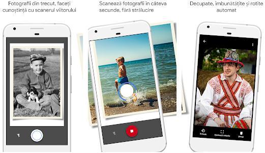 Scanează fotografii cu telefonul mobil Android sau iPhone PhotoScan