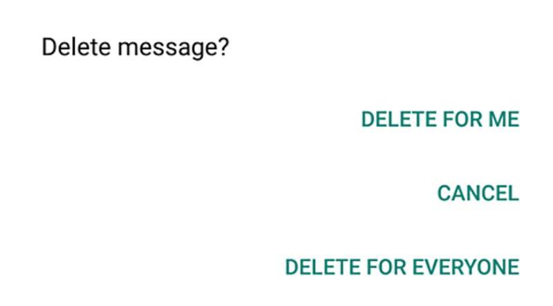 Trucuri utile pentru Whatsapp care trebuiesc știute sterge mesajele trimise