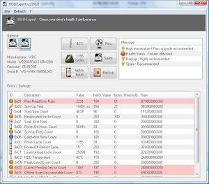 Verifică starea și performanța unităților de hard disk