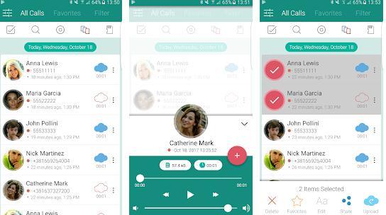 Înregistrează apeluri pe telefonul Android Automatic Call Recorder Pro