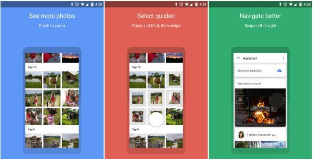 Aplicații de recuperat poze șterse din telefon Google Foto