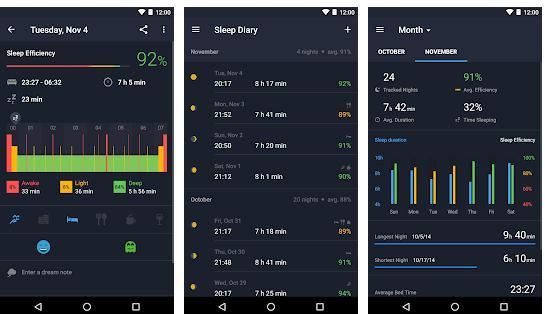 Aplicații pentru somn pentru Android sau iPhone Sleep Better