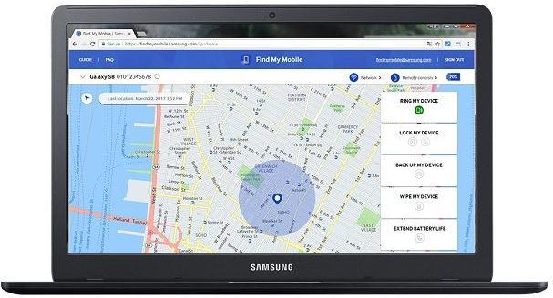 Ce fac dacă am uitat modelul de deblocare la telefon Samsung Find My Mobile