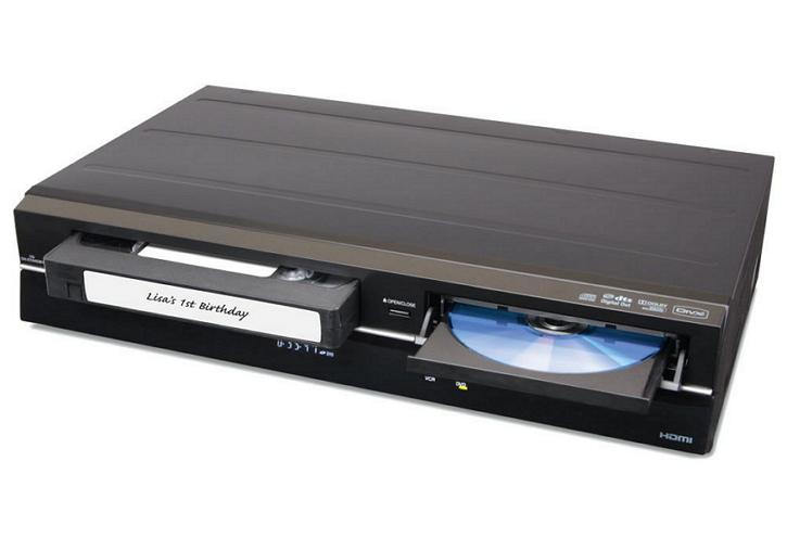 Înregistrare casete video pe DVD