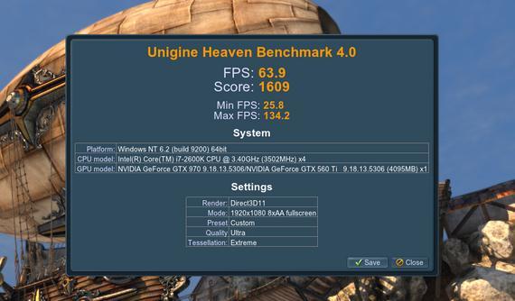 Compară placa ta video din PC cu altele testul final