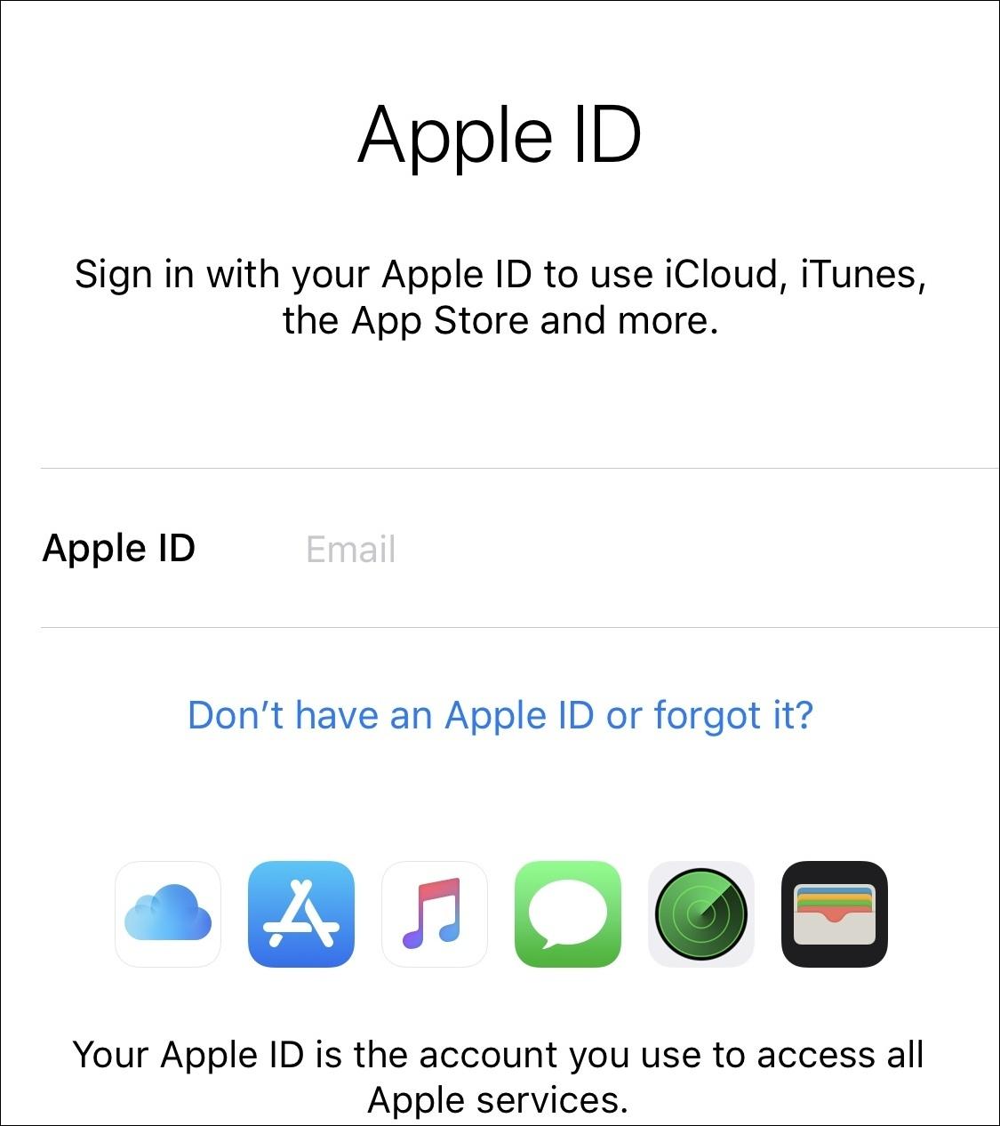 Cum faci un ID Apple gratuit pentru iPhone sau iPad creare apple id