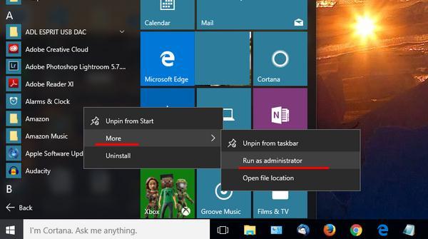 Cum folosești programe ca administrator în Windows 10 explicatie more