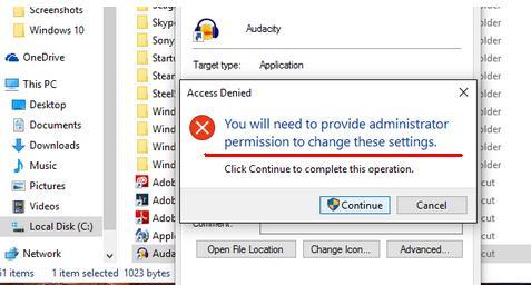 Cum folosești programe ca administrator în Windows 10 privilegii