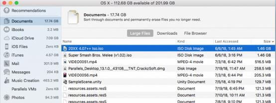 Cum găsești și ștergi fișierele mari pe Mac Storage Management