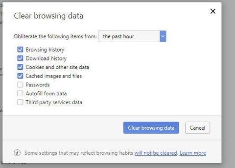 Cum se șterge istoricul căutărilor și cookie-urile browserul opera