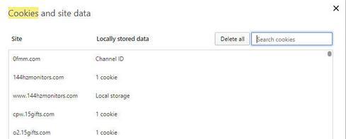 Cum se șterge istoricul căutărilor și cookie-urile stergere manuala