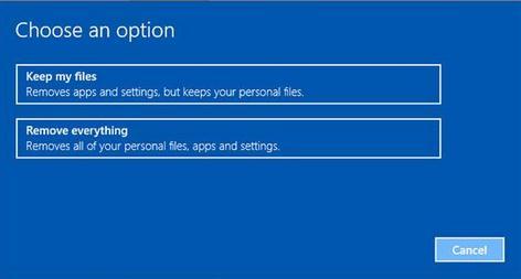 reinstalare sistem Windows pe laptop sau PC