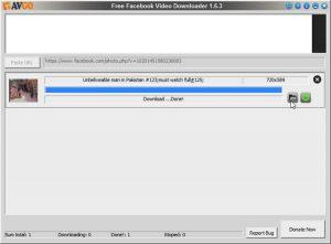 Descarcă video de pe Facebook cu AVGO Downloader