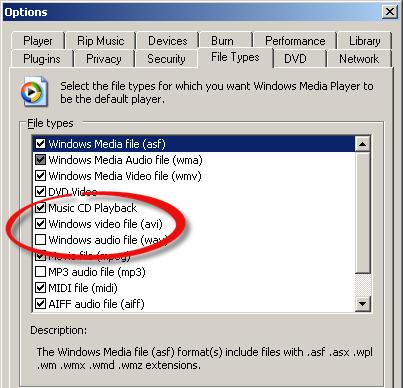 Redare fișiere AVI pe PC sau laptop cu Windows 10 setare video avi