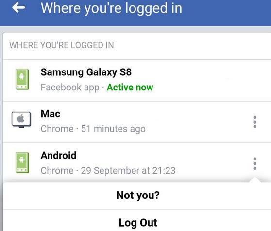 Schimbă parola la Facebook pe telefon laptop sau PC deconectare messenger