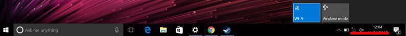 Activare WiFi sau dezactivare în Windows 10 pe laptop pictograma bara de activitati
