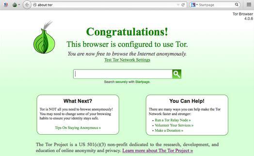 Anonim pe Internet cu browserul Tor pe PC sau laptop instalare