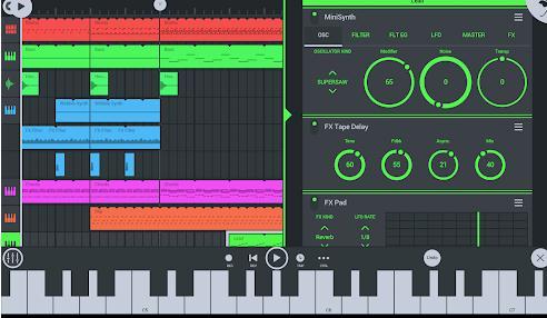 Aplicații pentru DJ pentru Android FL Studio Mobile
