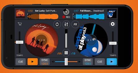 Aplicații pentru DJ pentru Android sau iPhone Cross DJ