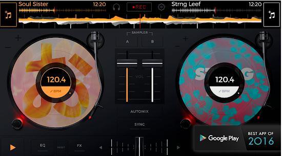 Aplicații pentru DJ pentru Android sau iPhone edjing Mix