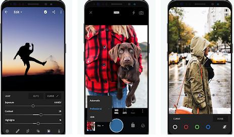 Aplicații pentru Photoshop editor Android sau iPhone Adobe Photoshop Lightroom CC