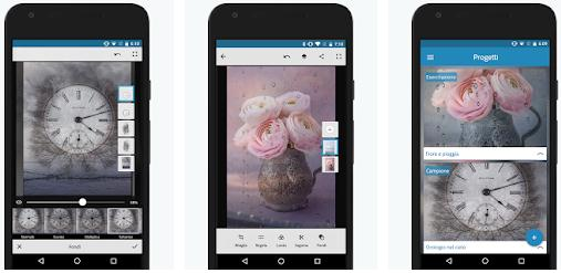 Aplicații pentru Photoshop editor Android sau iPhone Adobe Photoshop Mix