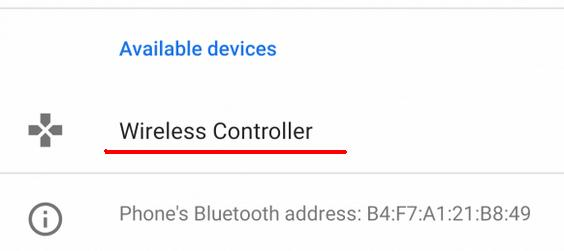 Conectează controller-ul la telefon Android sau Chromebook bluetooth